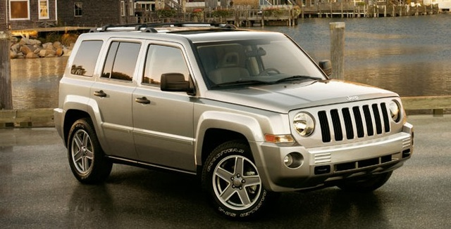 2008 Jeep Patriot, Front Right Side View