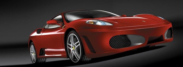 2005 Ferrari F430, Front Right Side View