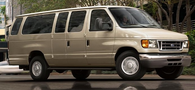 2006 Ford Econoline Wagon, Right Side View