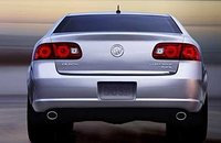 2008 Buick Lucerne, Back View