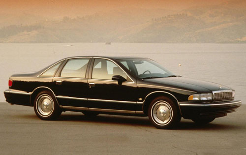 1993 Chevrolet Caprice LS, Picture of 1993 Chevrolet Caprice 4 Dr LS Sedan
