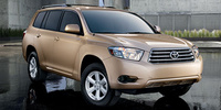 2008 Toyota Highlander, Front Right Side View, manufacturer, exterior