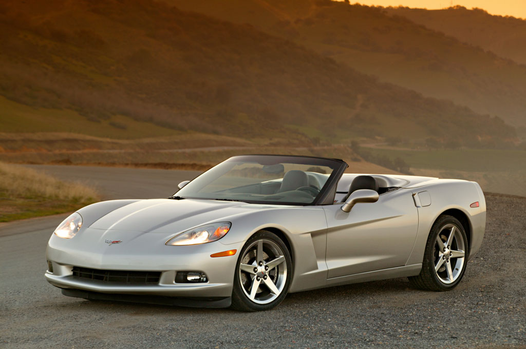 2005 Chevrolet Corvette, Front Left Side View, exterior