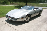 1987 Chevrolet Corvette Convertible, lookin soooooo sweet and ready to RIP!!!!, exterior