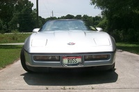 1987 Chevrolet Corvette Convertible, look out!!  comin' at ya!!