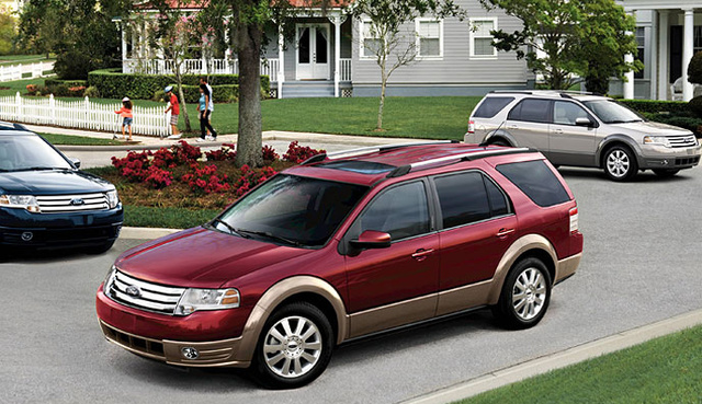 2008 Ford Taurus X  Overview  CarGurus