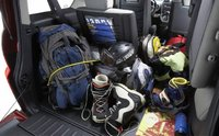 2008 Honda Element, trunk space, interior, manufacturer, gallery_worthy