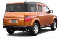 2007 Honda Element, back view, exterior, manufacturer