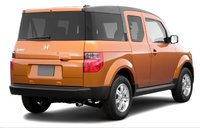 2007 Honda Element, back view, exterior, manufacturer
