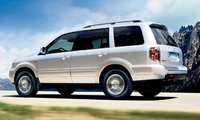 2008 Honda Pilot, side view, exterior, manufacturer