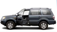 2008 Honda Pilot, side view, manufacturer, exterior