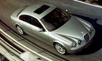 2008 Jaguar S-TYPE, aerial view, exterior, manufacturer