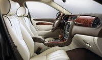 2008 Jaguar S-TYPE, front seats, interior, manufacturer