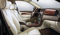 2008 Jaguar S-TYPE, front seats, interior, manufacturer