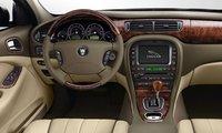 2008 Jaguar S-TYPE, steering wheel, interior, manufacturer