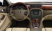 2008 Jaguar S-Type, steering wheel, manufacturer, interior