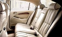 2008 Jaguar S-Type, back seats , manufacturer, interior