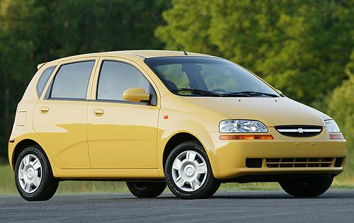 2005 Chevrolet Aveo Pic 45224