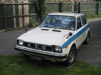 1976 Honda Civic, Japanese assembled. owned since new, exterior