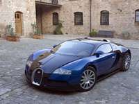 2006 Bugatti Veyron 16.4, Another front-quarter view, exterior