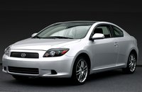 2008 Scion tC, front view