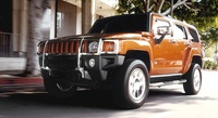 2008 Hummer H3, Front Left Side View