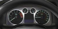 2008 Hummer H3, Gauges