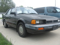 1985 Honda Accord SE-i, this is the front of it we are planning on painting it putting in new head lights, exterior