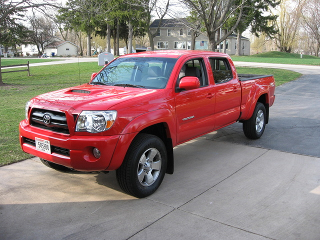 2007 Toyota Tacoma Double Cab V6 4WD, Since this pic was taken I have added full length running boards, a tonneau cover and bug shield. Sorry, I don't have that pic., exterior, gallery_worthy