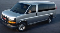 2007 GMC Savana, Front Left Side View