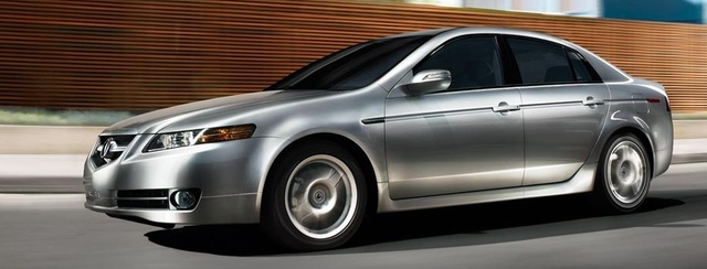 2008 Acura TL, Left Side View, gallery_worthy