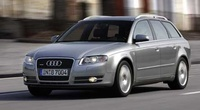 2005 Audi A4 Avant, Front Left Side View, exterior