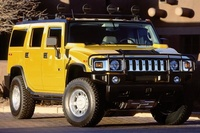 2005 Hummer H2, Front Right Side View, exterior