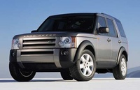 2005 Land Rover LR3, Front Left Side View