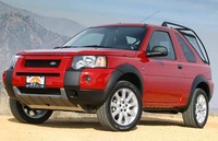 2005 Land Rover Freelander, Front Left Side View, exterior