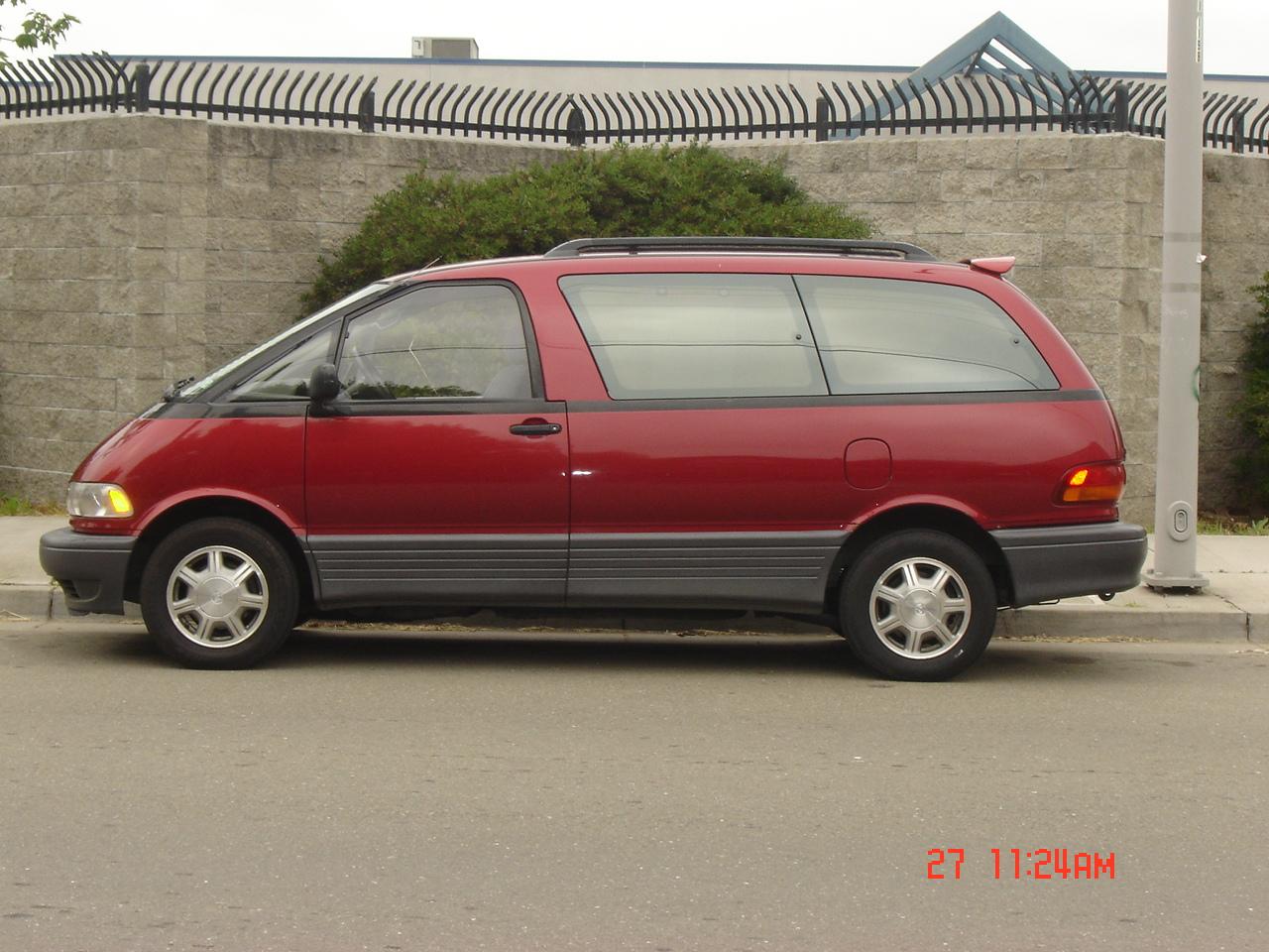 1994 Toyota Previa Pictures Cargurus