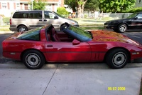 1984 Chevrolet Corvette Base, 1984 Just looking good, exterior