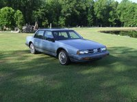 1990 Oldsmobile Eighty-Eight Royale, Light Blue 1990 Oldsmobile 88 Royale Sedan