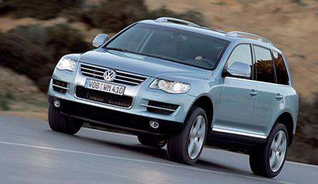 The 08 Volkswagen Touareg 2
