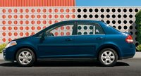 2008 Nissan Versa, exterior, manufacturer