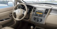 2008 Nissan Versa, steering wheel, interior, manufacturer