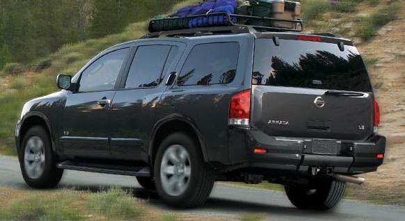 2007 Nissan Armada, The 2008 Nissan Armada, exterior, manufacturer