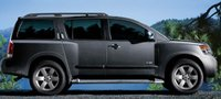 2008 Nissan Armada, side view, exterior, manufacturer