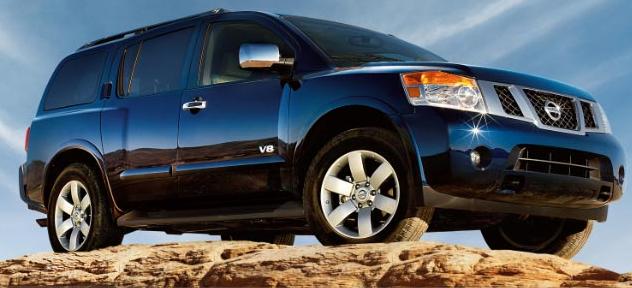 2009 Nissan Armada, 08 Nissan Armada, exterior, manufacturer
