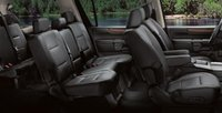 2008 Nissan Armada, seating, interior, manufacturer