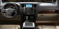 2008 Nissan Armada, dashboard, interior, manufacturer