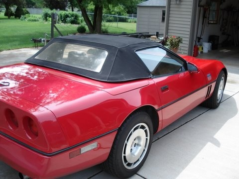 Picture of 1987 Chevrolet Corvette, exterior, gallery_worthy