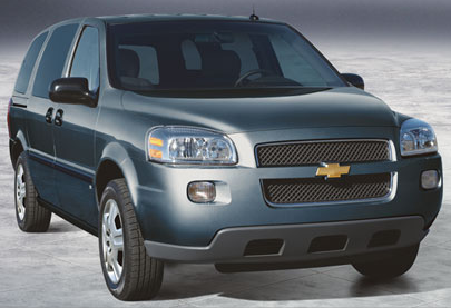 2007 Chevrolet Uplander, 2007 Chevy Uplander, exterior, manufacturer