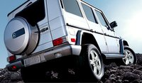 2007 Mercedes-Benz G-Class G 500, back view, exterior, manufacturer