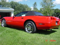 1993 Chevrolet Corvette Convertible, Picture of 1993 Chevrolet Corvette 2 Dr STD Convertible